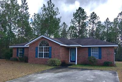 Hinesville Single Family Home For Sale: 1343 Loblolly Drive