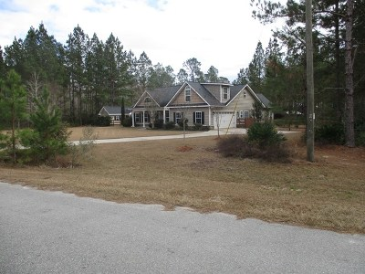 Allenhurst, Glennville, Hinesville, Ludowici Single Family Home For Sale: 552 Vickers Road SE