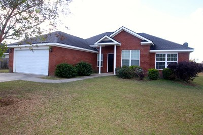 Glennville Single Family Home For Sale: 506 Auburn Road