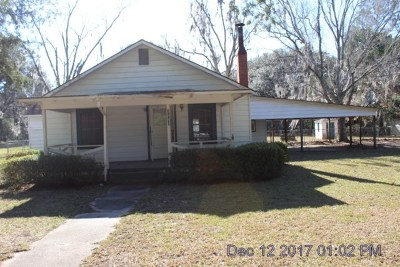 Single Family Home For Sale: 3140 Rayonier Road