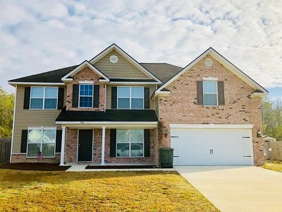Hinesville Single Family Home For Sale: 708 Auburn Cove