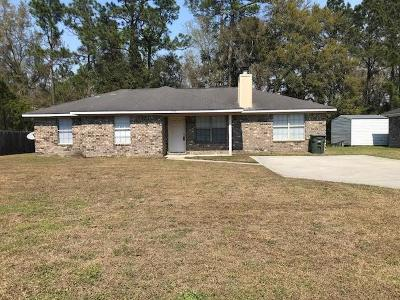 Hinesville Single Family Home For Sale: 1318 Loblolly Drive