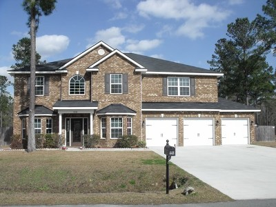 Ludowici Single Family Home For Sale: 448 Briarcrest Drive NE