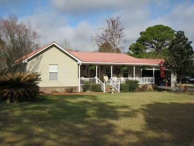 Jesup Single Family Home For Sale: 5686 Waycross Highway