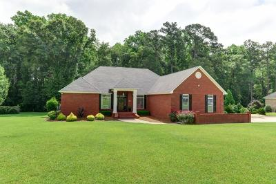 Glennville Single Family Home For Sale: 111 Oak Ridge Drive