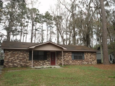 Hinesville Single Family Home For Sale: 602 Heritage Drive