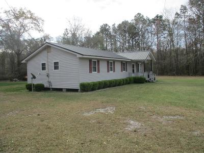Ludowici Single Family Home For Sale: 3994 Smith Berry Road NE