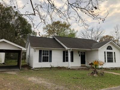 Glennville Single Family Home For Sale: 503 Bolton Street