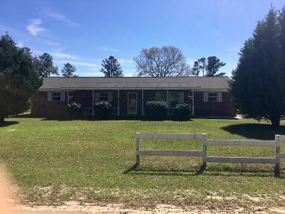 Glennville Single Family Home For Sale: 1226 Maryann Prescott Road