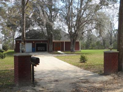 Jesup Single Family Home For Sale: 714 Altamaha Road
