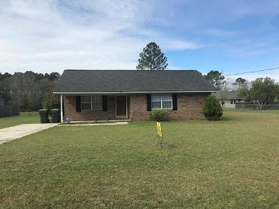 Hinesville Single Family Home For Sale: 340 Jefferson Circle