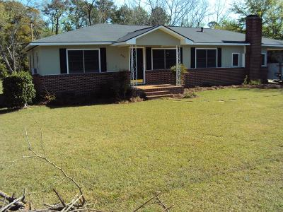 Glennville Single Family Home For Sale: 502 Marietta Street