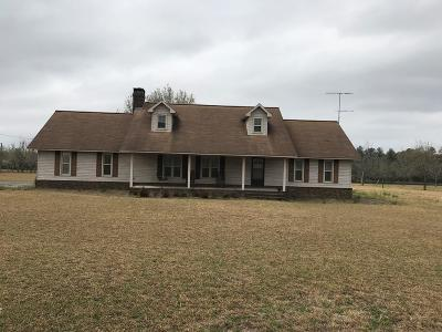 Glennville Single Family Home For Sale: 3487 E Hencart Road