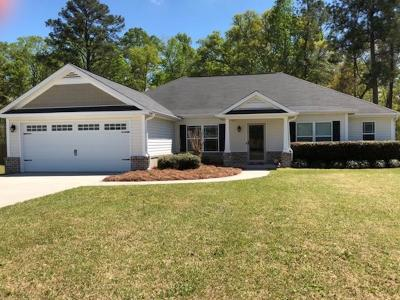 Ludowici Single Family Home For Sale: 42 Riverside Drive NW