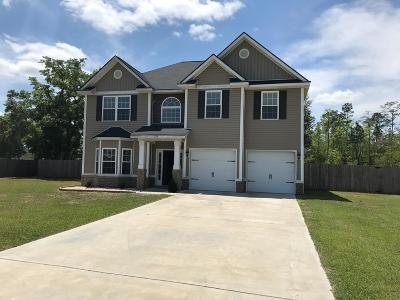 Ludowici Single Family Home For Sale: 733 Mustang Lane NE