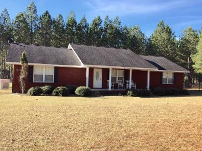 Glennville Single Family Home For Sale: 1215 Hwy 178