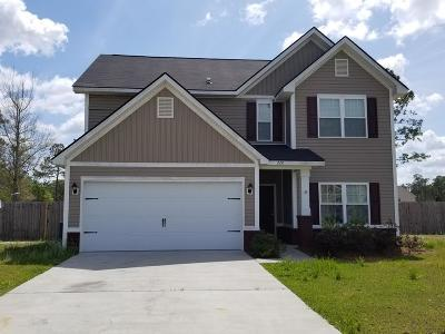 Ludowici Single Family Home For Sale: 220 Archie Way NE
