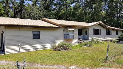 Midway GA Single Family Home For Sale: $114,900