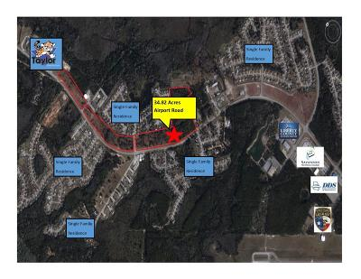 Residential Lots & Land For Sale: 34.82ac Airport Road