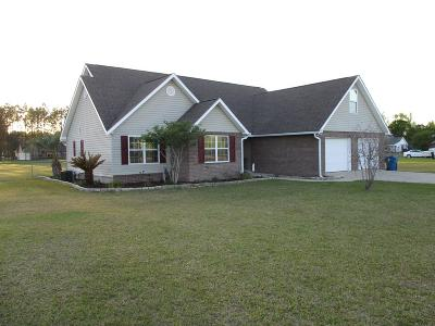 Ludowici Single Family Home For Sale: 3431 Smiley Road NE