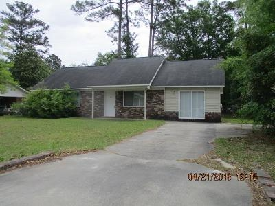 Hinesville GA Single Family Home For Sale: $95,600