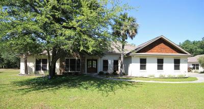 Single Family Home For Sale: 1093 Oak Island Road