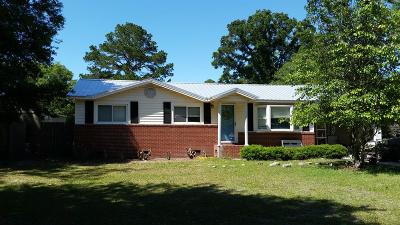 Jesup Single Family Home For Sale: 108 Candler Street