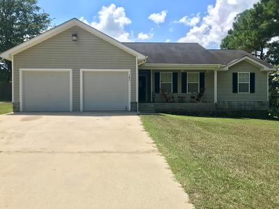 Jesup Single Family Home For Sale: 143 Palm Tree Road