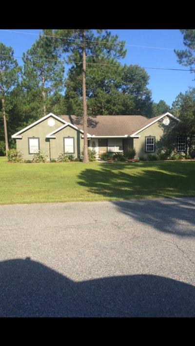 Jesup Single Family Home For Sale: 120 Fawn Way