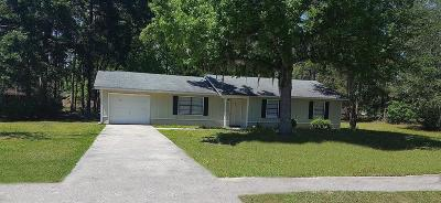 HINESVILLE Single Family Home For Sale: 703 Olmstead Drive