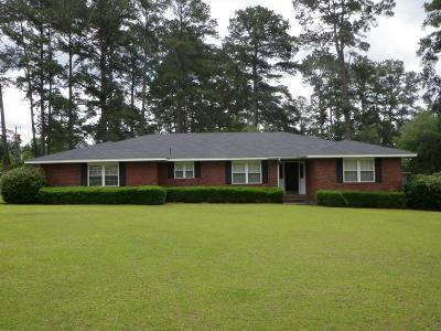 Glennville Single Family Home For Sale: 105 Edgewood Road