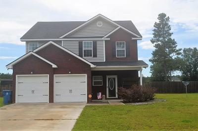 Ludowici GA Single Family Home For Sale: $192,500
