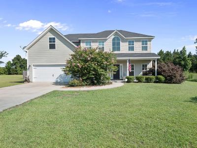 Ludowici Single Family Home For Sale: 60 Creekside Drive NW