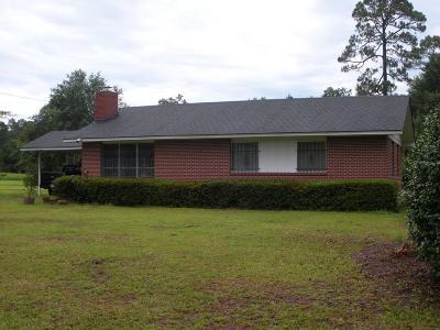 Glennville Single Family Home For Sale: 726 West Barnard Street