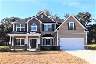 Hinesville Single Family Home For Sale: 32 Flemington Oaks Drive