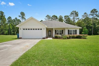 Ludowici GA Single Family Home For Sale: $169,900