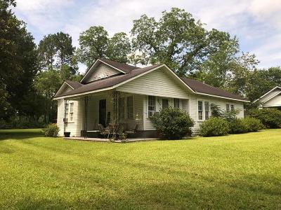 Glennville Single Family Home For Sale: 629 West Barnard Street