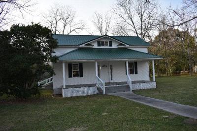 Glennville Single Family Home For Sale: 312 South Herrington Street