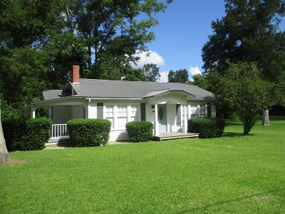 Glennville Single Family Home For Sale: 306 South Rushing Street