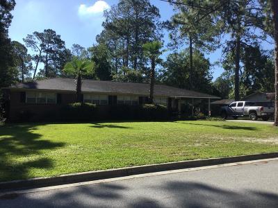 Jesup Single Family Home For Sale: 138 Greenwood Street