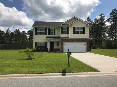 Ludowici Single Family Home For Sale: 244 Murray Crossing Boulevard NE