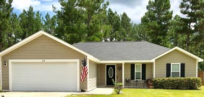 Ludowici Single Family Home For Sale: 170 Cutters Gap SE