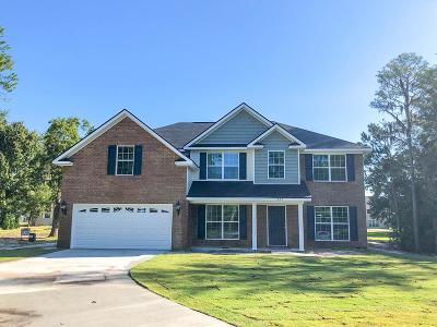 Hinesville Single Family Home For Sale: 665 Live Oak Church Road