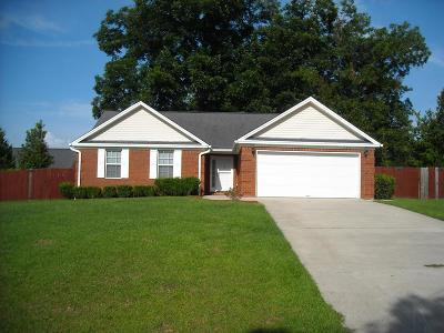 Glennville Single Family Home For Sale: 406 Auburn Road