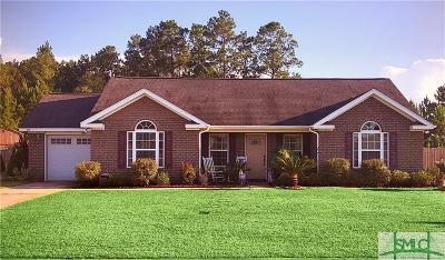 Ludowici Single Family Home For Sale: 85 Madison Avenue NE