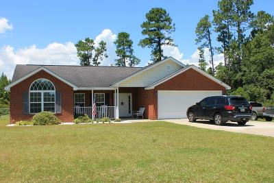 Ludowici Single Family Home For Sale: 2185 Elim Church Road NE