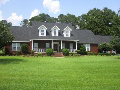 Glennville GA Single Family Home For Sale: $489,900