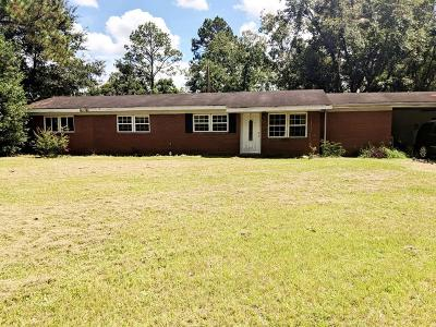 Jesup Single Family Home For Sale: 943 Seven Oaks Road