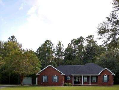 Jesup Single Family Home For Sale: 5 West Melody Lane
