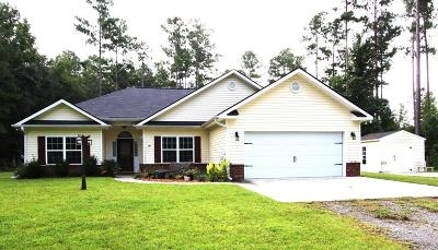 Riceboro Single Family Home For Sale: 16 Guther Boulevard